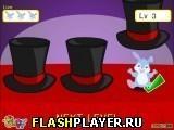 Игра Кролик из магической шляпе - играть бесплатно онлайн