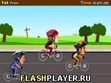 Игра Велосипедные гонки - играть бесплатно онлайн