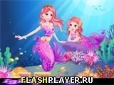 Игра Две русалки - играть бесплатно онлайн