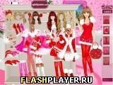 Игра Одень Барби на Рождество - играть бесплатно онлайн