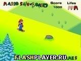 Игра Марио и сноуборд - играть бесплатно онлайн