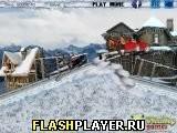 Игра Снегоходные гонки - играть бесплатно онлайн