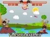Игра Бен 10 против Бакугана - конфетная война - играть бесплатно онлайн
