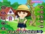 Игра Весенний наряд Даши - играть бесплатно онлайн