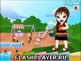 Игра Саша Братц в парке - играть бесплатно онлайн