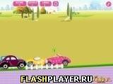 Игра Автогонки с Барби - играть бесплатно онлайн