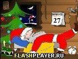 Игра Разбуди Деда Мороза - играть бесплатно онлайн