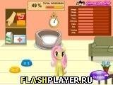 Игра Забота о милом пони - играть бесплатно онлайн