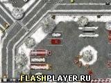 Игра Зимний грузовик пожарных 2 - играть бесплатно онлайн