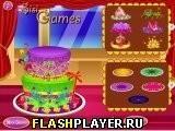 Игра Увлекательный торт Братц - играть бесплатно онлайн