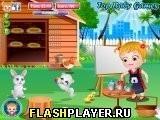 Игра Малышка Хейзел – Пасхальная забава - играть бесплатно онлайн