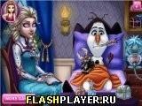 Игра Вылечи снеговика Олафа - играть бесплатно онлайн