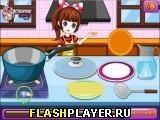 Игра Паста с морепродуктами - играть бесплатно онлайн