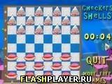 Игра Шашки раковинами - играть бесплатно онлайн