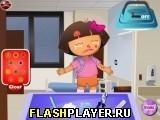 Игра Даша Следопыт у доктора - играть бесплатно онлайн
