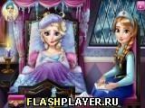 Игра Доктор у простывшей Эльзы - играть бесплатно онлайн