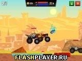 Игра Соревнование крутых джипов - играть бесплатно онлайн