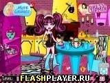 Игра Уборка после вечеринки монстров - играть бесплатно онлайн