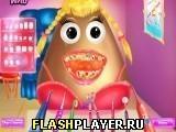 Игра Девушка Поу у дантиста - играть бесплатно онлайн