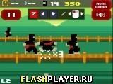 Игра Ретро ниндзя бластер - играть бесплатно онлайн