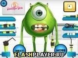 Игра Одноглазый монстр – Проблемы с зубами - играть бесплатно онлайн