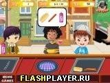 Игра Магазин вкусных гамбургеров - играть бесплатно онлайн