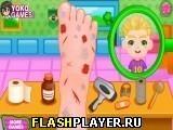Игра Лечим ногу - играть бесплатно онлайн
