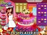Игра Украшение свадебного торта - играть бесплатно онлайн