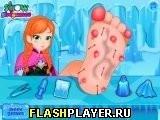 Игра Анна лечит ступни - играть бесплатно онлайн