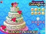 Игра Цветочный свадебный торт - играть бесплатно онлайн