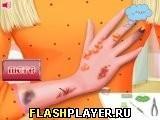 Игра Барби лечит руку - играть бесплатно онлайн