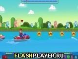 Игра Марио гоняет на водном мотоцикле - играть бесплатно онлайн