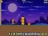 Игра Пугало против тыкв - играть бесплатно онлайн