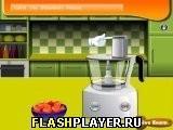 Игра Кулинарный класс Сары – Домашнее клубничное мороженое - играть бесплатно онлайн