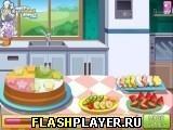 Игра Красочное фруктовое мороженое - играть бесплатно онлайн