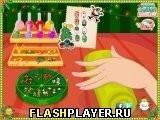 Игра Новогодний маникюр - играть бесплатно онлайн