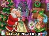 Игра Новогодние уловки Санты - играть бесплатно онлайн