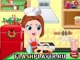 Игра Новогоднее мороженое пломбир - играть бесплатно онлайн