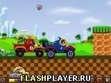 Игра Соник – Войны грузовиков - играть бесплатно онлайн