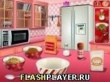 Игра Кулинарный класс Сары – Пряничный домик - играть бесплатно онлайн
