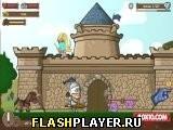 Игра Рыцарь у замка - играть бесплатно онлайн