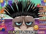 Игра Сердитый кот в парикмахерской - играть бесплатно онлайн