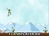 Игра Бесконечное катание на лыжах - играть бесплатно онлайн