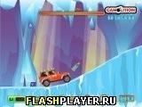 Игра Гонка по ледяной пещере - играть бесплатно онлайн