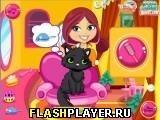 Игра Кошечка в салоне красоты - играть бесплатно онлайн