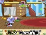 Игра Одинокая мышь против плохого кота - играть бесплатно онлайн