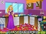 Игра Рапунцель убирает на кухне - играть бесплатно онлайн