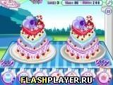 Игра Анна украшает свадебный торт - играть бесплатно онлайн