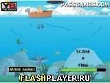 Игра Старик рыбачит - играть бесплатно онлайн