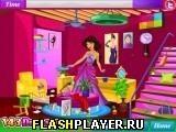 Игра Принцесса Жасмин убирает в гостиной - играть бесплатно онлайн